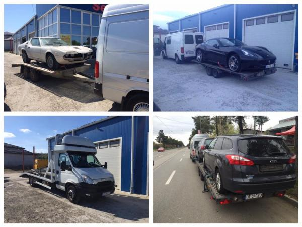 Transport pe Platforma Auto Germania - Bacau
